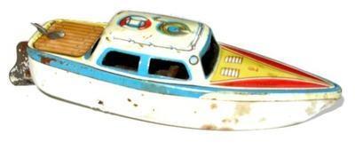 Motorlosese Lorenz Bolz PUFF PAFF Boat