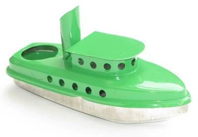 Harbour  Tug Boat - Green.