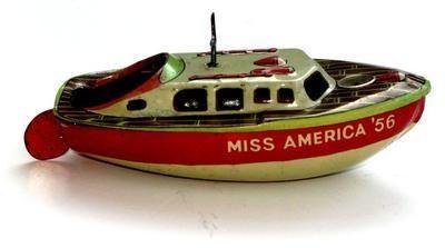 Miss America '56 Pop Pop Boat.