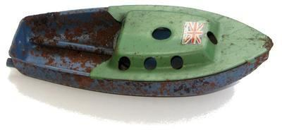 British Made Pop Pop Boat.