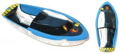 Avon 555 Pop Pop Boat - Penguin - Blue