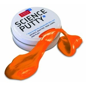 Science Museum Science Putty - Orange.