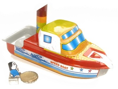 Welby Pop Pop Speed Boat.