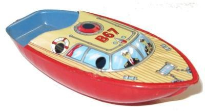 B 68 Pop Pop Boat.