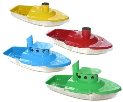 Chimney & Tug Pop Pop Boat Collection.