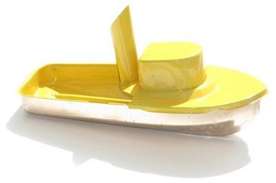 Jumbo Pop Pop Tug Boat - Yellow
