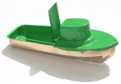 Jumbo Pop Pop Tug Boat - Green.