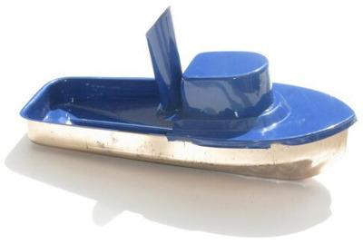 Jumbo Pop Pop Tug Boat - Blue.