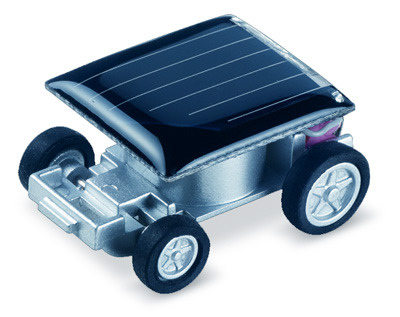 Worlds Smallest Solar Powered Toy Car X 10.