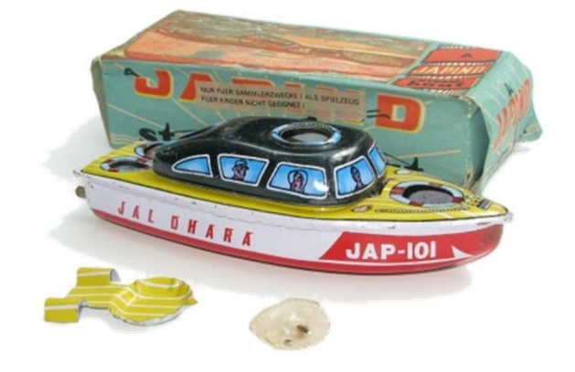 japand pop pop boat