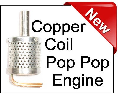 Copper Coil Engine.