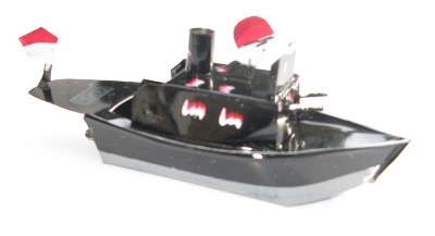 Indonesian Pop Pop Gun Boat - Black