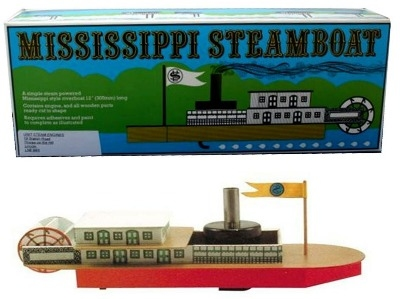 Mississippi Pop Pop Boat Kit.