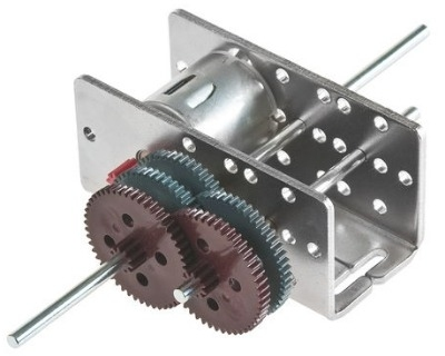 Gearbox In Metal Housing.