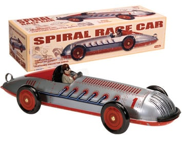 Collectors Schylling Spiral Racing Car.