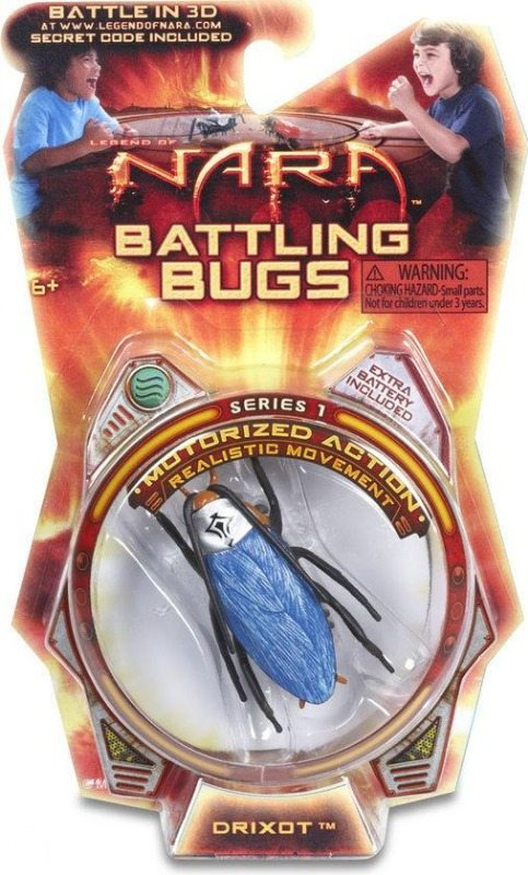 drixot nara battling bug packaging