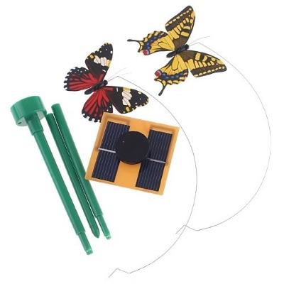 Flying Butterflies, solar powered.