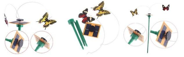 solar butterflies