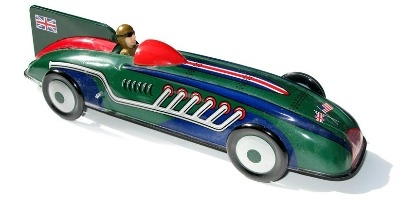 Captain Benjamin's Record Car