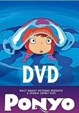 Ponyo on the Cliff by the Sea. DVD (English).