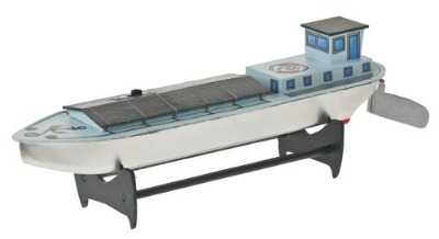 Cargo Boat with Electric Drive.