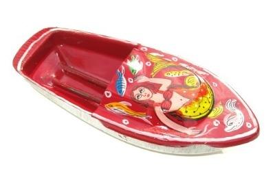 Avon 555 Pop Pop Boat - Mermaid. Red.