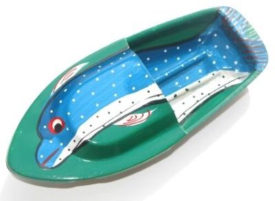 Avon 555 Pop Pop Boat - Dolphin - Green.