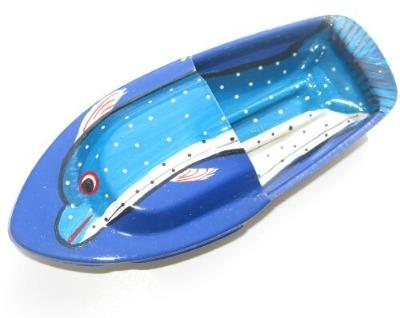 Avon 555 Pop Pop Boat - Dolphin - Blue.