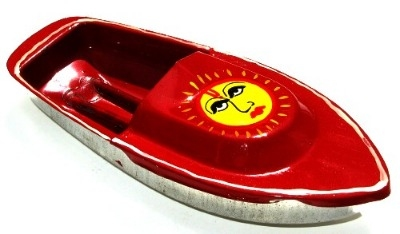 Avon 555 Pop Pop Boat - Sun. Red.