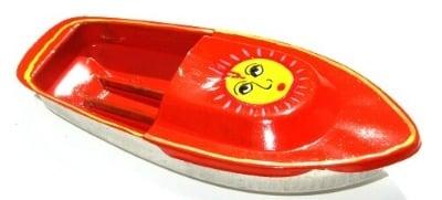 Avon 555 Pop Pop Boat - Sun. Orange.