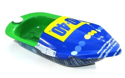 Mini  Pop Pop Boat - WD-40