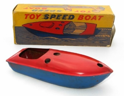 Toy Speed Boat.