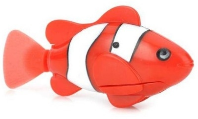 Happy Robo Fish - Red.