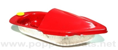 Mini  Pop Pop Boat - Red.