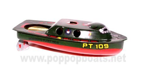 Torpedo Patrol PT-109 Pop Pop Boat.