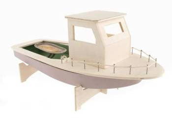 Pop Pop Fishing Boat Kit.