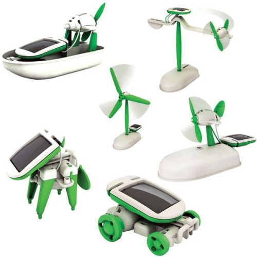 6 in 1 Solar Robot Kit.