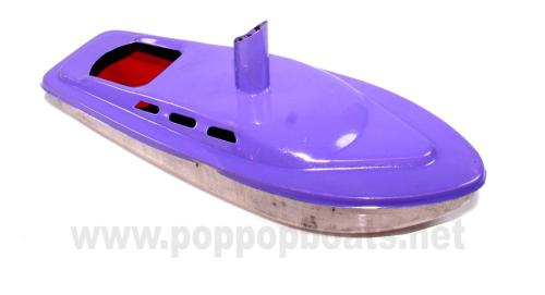 Rum Runner Pop Pop Boat -  Black.