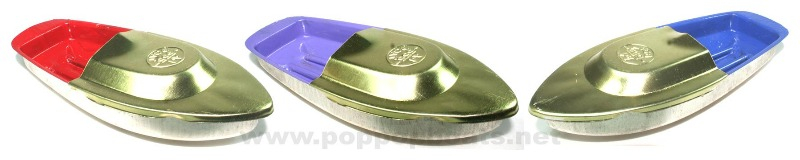 pop pop boats with gold deck and badge stamp