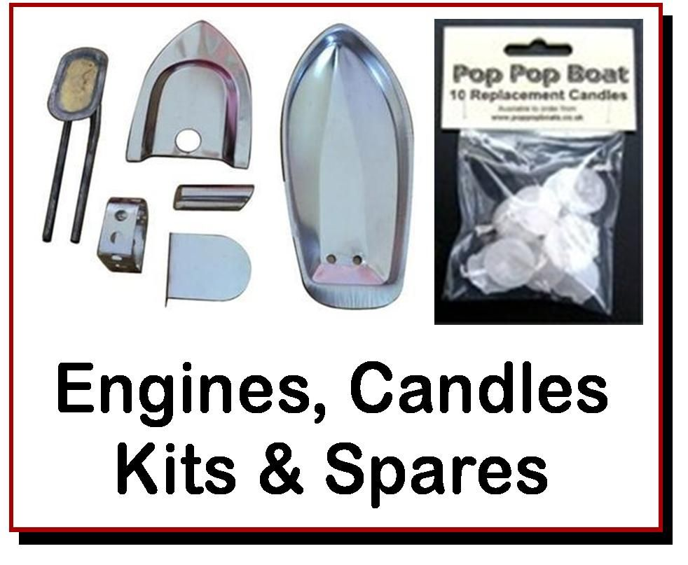 <!-- 0022 -->Boat Kits, Engines, Candles & Spares