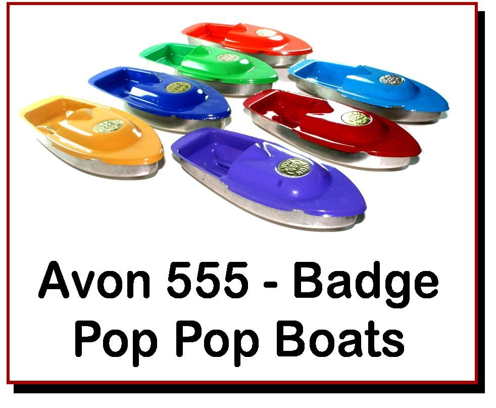 <!-- 00222 -->Avon 555 Pop Pop Boats