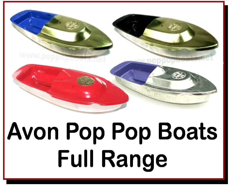 <!-- 00224 -->Avon Pop Pop Boats
