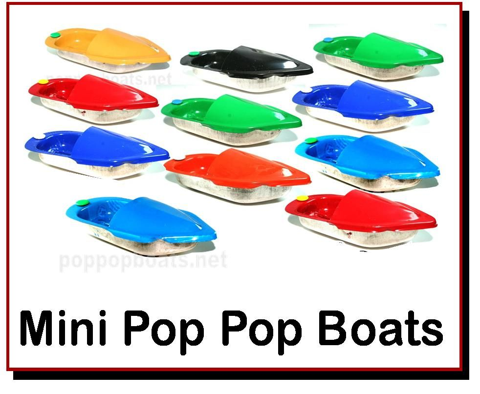 <!-- 015 -->Mini Pop Pop Boats