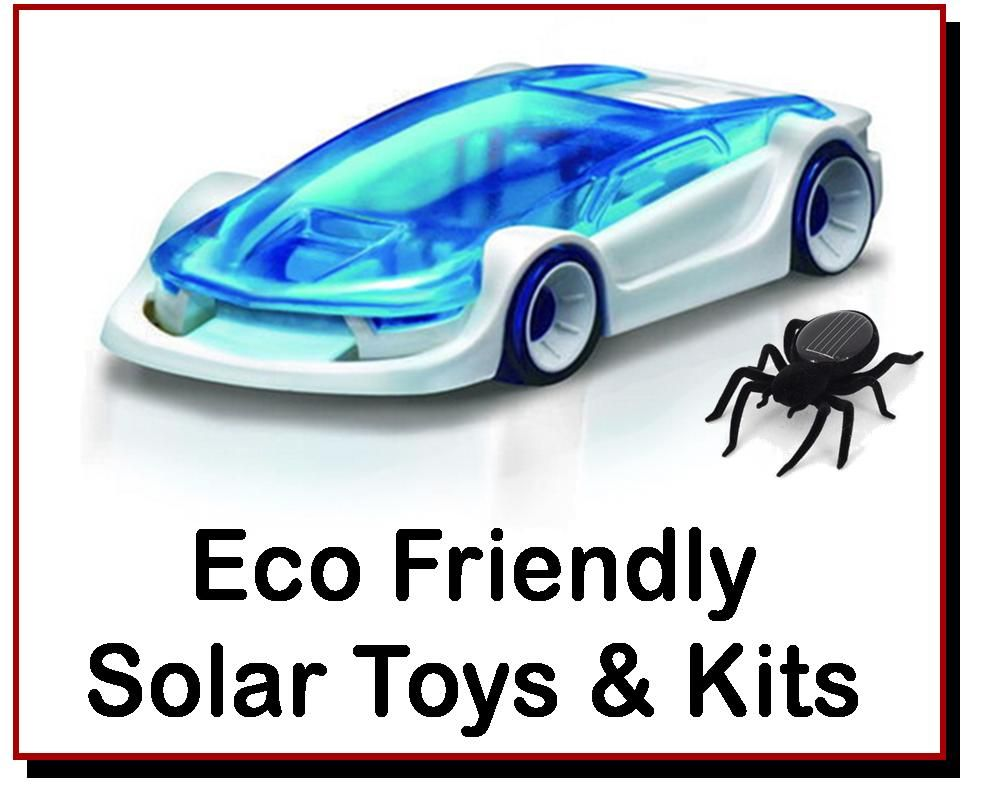 <!-- 079 -->Eco Friendly / Solar Toys