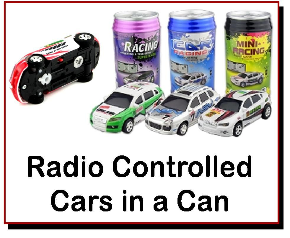 <!-- 0825 -->Mini RC Car in a Can