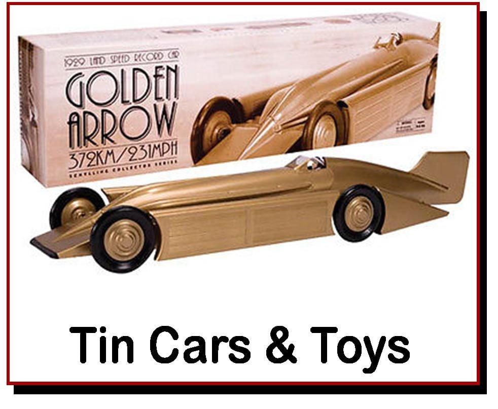 <!-- 090 -->Tin Cars &amp; Toys