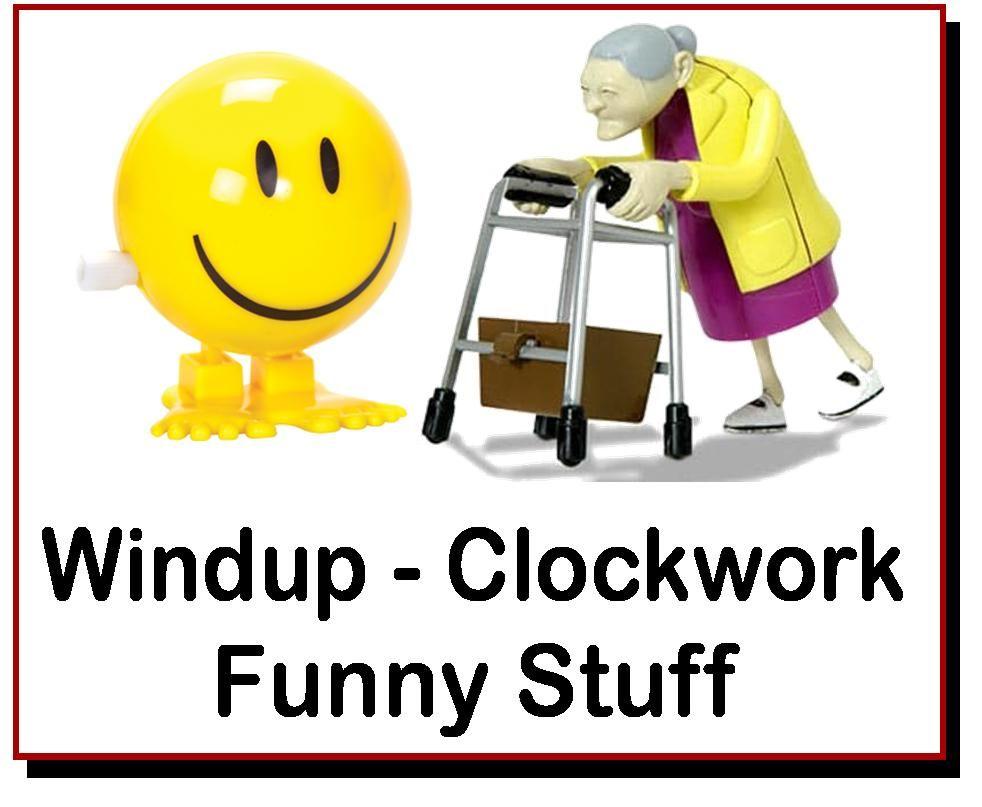 <!-- 120 -->Clockwork Funny Stuff