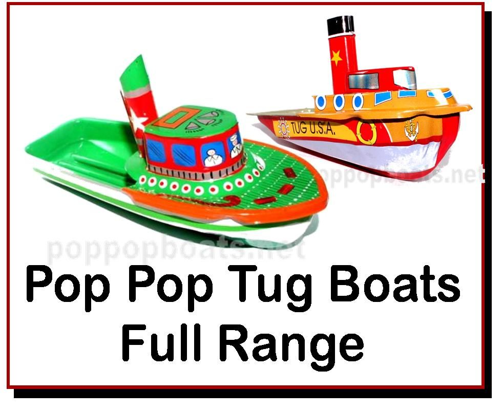 <!-- 030 -->Pop Pop Tug Boats Full Range