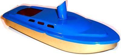 Rum Runner Pop Pop Boat -  Sky Blue.