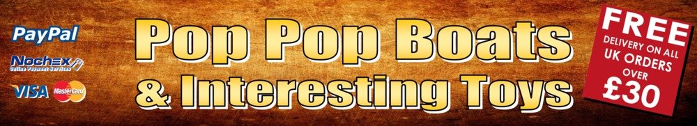 Pop Pop Boats, site logo.